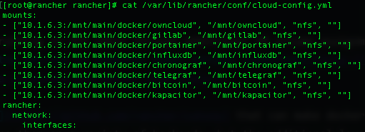 FreeNAS + RancherOS, my NAS Docker Stack